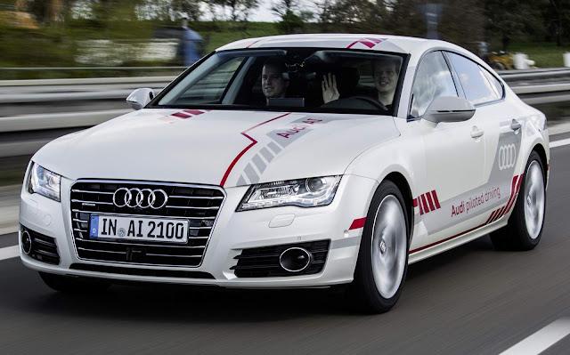 Audi oferece test-drive de A7 autônomo em Autobahn