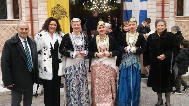 Η Εύξεινος Λέσχη Χαρίεσσας τίμησε τη μνήμη του Αγίου Ευγενίου, προστάτη της Τραπεζούντας.