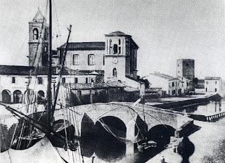 Porto Canale in bianco e nero