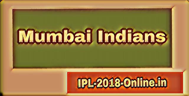 Mumbai Indians 2018