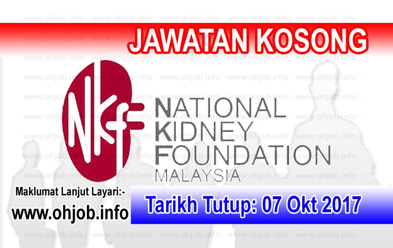Jawatan Kerja Kosong NKF - Yayasan Buah Pinggang Kebangsaan Malaysia logo www.ohjob.info oktober 2017