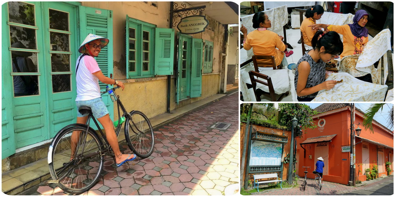 Sepeda Archives Blog Indonesia Tcash Vaganza 34 Totebag Beach Kampung Batik Kauman Solo