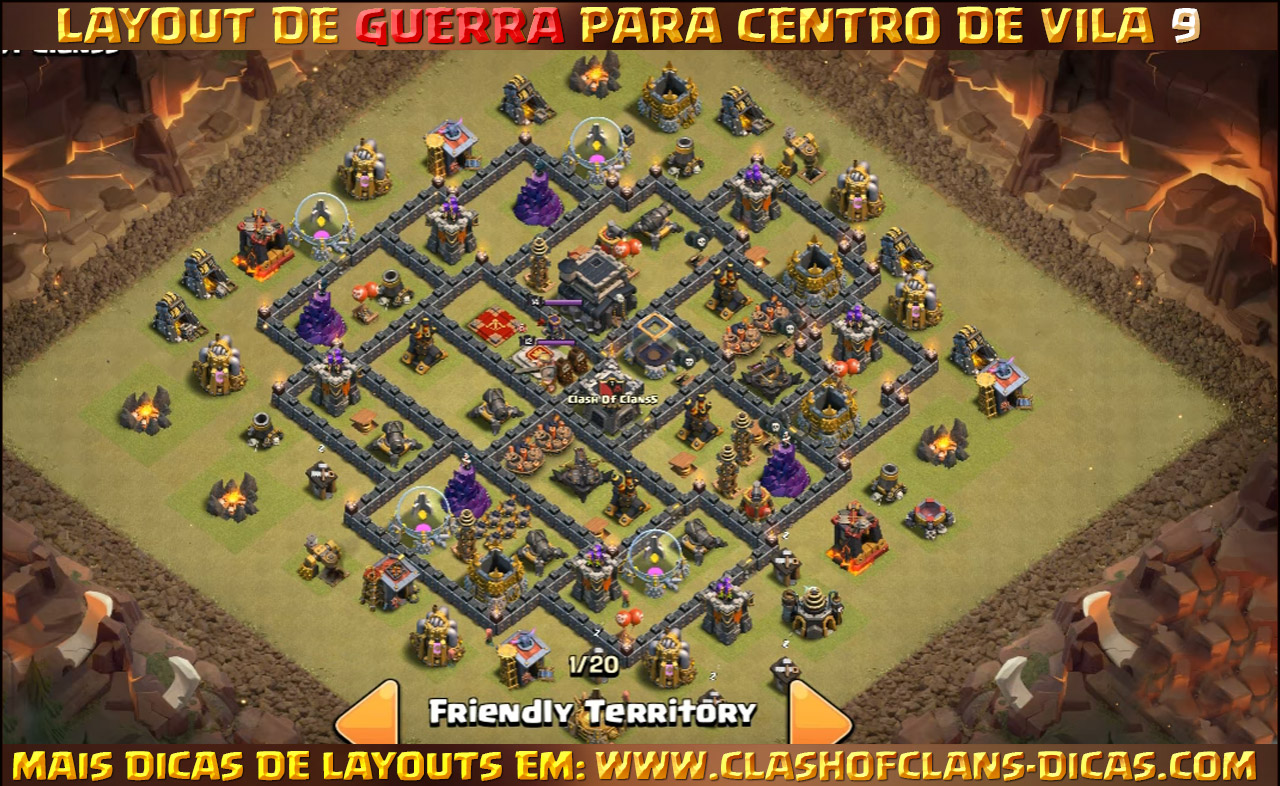 layouts para cv9 em guerra