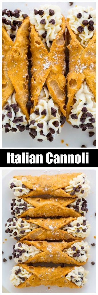 An easy and delicious 5-Ingredient Cannoli Recipe! This classic Italian dessert is so delicious and always a crowd-pleaser. So if you've been searching for a foolproof recipe for cannoli filling, this one's for you!