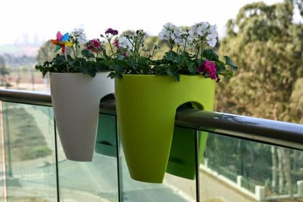 balcony flower baskets Foundation Dezin Decor Hanging Flower Baskets