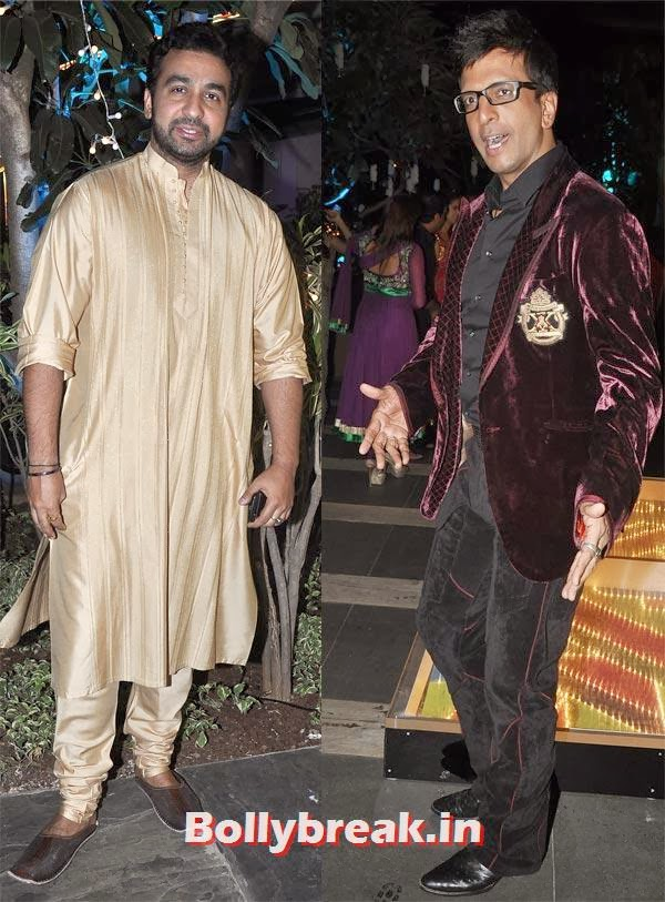 Raj Kundra and Jaaved Jaaferi, Sachiin Joshi and Urvashi Sharma's Diwali Party