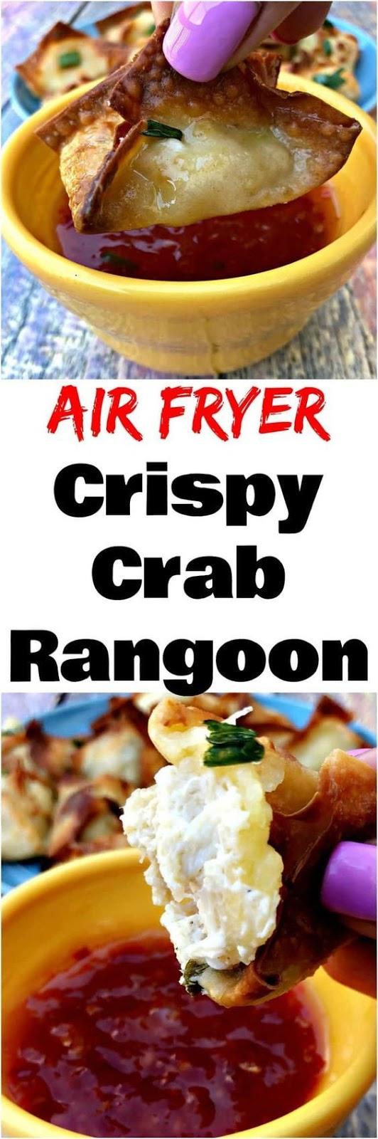 AIR FRYER CRISPY CRAB RANGOON