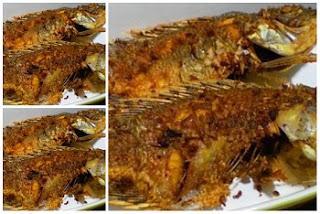 resep ikan mujair goreng seenak di rumah makan Padang