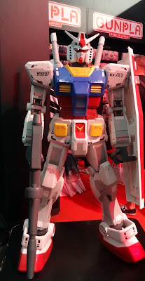 Stand Gunpla Bandai Paris Japan Expo 2017