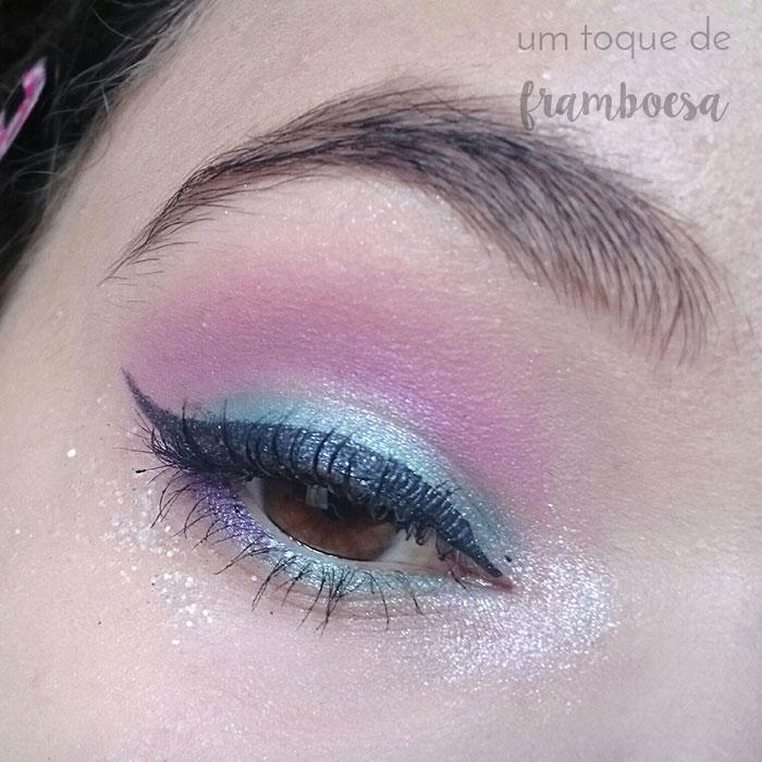 Maquiagem inspirada em sereia