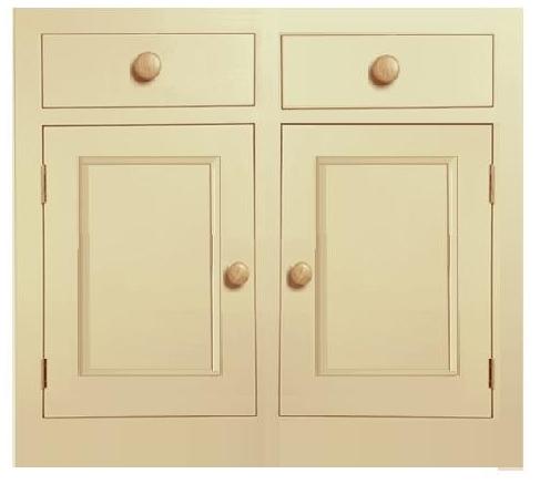 unpainted kitchen unit, Northampton, Pegasus pine