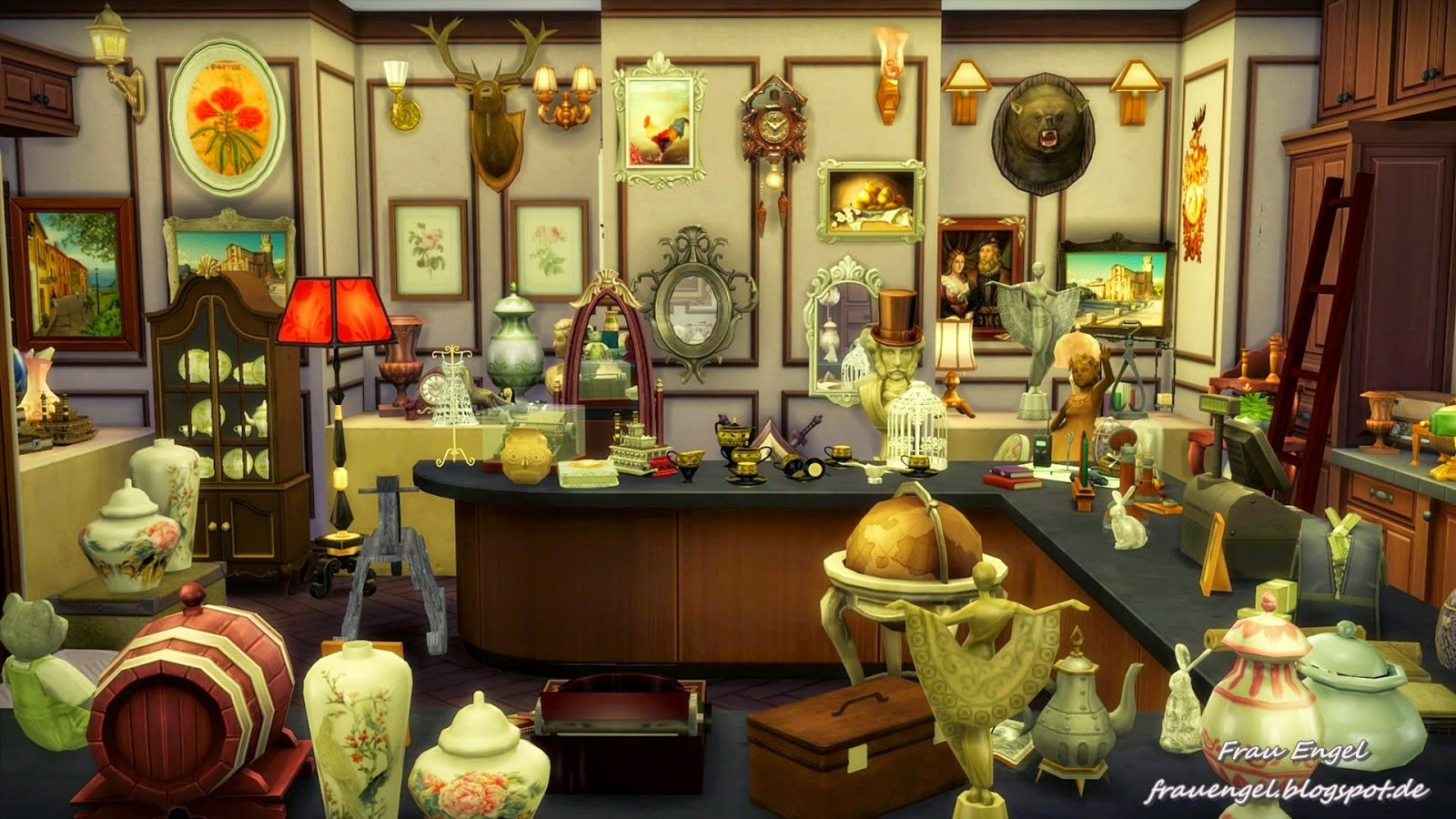 my sims 4 blog antique store and flower shop by frau engel. Black Bedroom Furniture Sets. Home Design Ideas