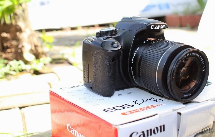 harga kamera bekas canon kiss x3