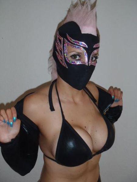 Atenea Queen - Female Luchador