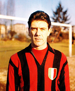 Cesare Maldini was captain of the Milan team  who became Italy's first European champions