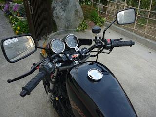 sportster 1200s kawasaki z900 style handlebar and gas tank