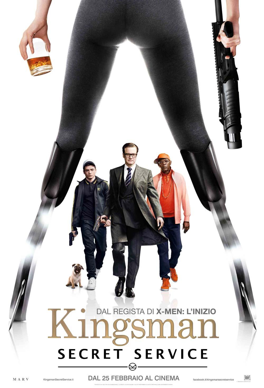 Kingsman The Secret Service คิงส์แมน โคตรพิทักษ์บ่มพยัคฆ์ [HD][พากย์ไทย]
