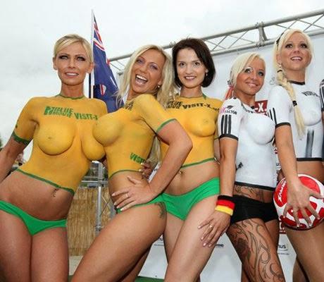 Nude Female Football 111