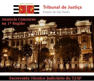 Apostila do Concurso TJSP - Tribunal de Justiça (SP) Escrevente 2017.