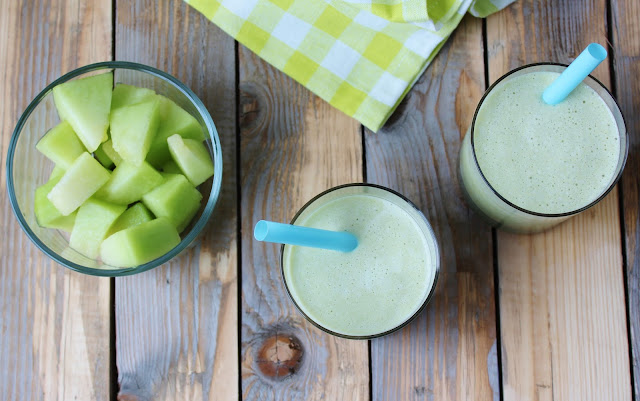 101 Healthy Snacks - Frozen Green Tea, Vanilla, Melon Smoothie