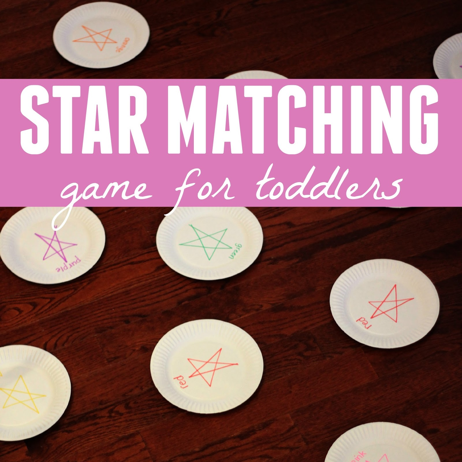 Toddler Approved Star Color Matching Game
