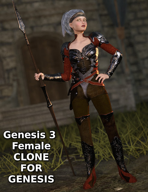 Genesis 3 Female Clone for Genesis
