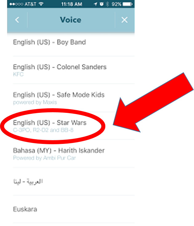 Can you download more voices for waze