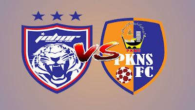 Live Streaming JDT vs PKNS FC Piala FA Malaysia 17.4.2019