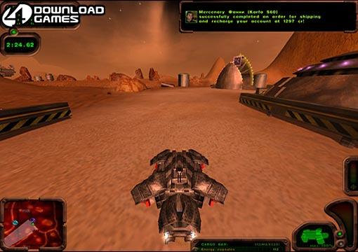 لعبة الاكشن والسباق في المريخ Martian Transporter