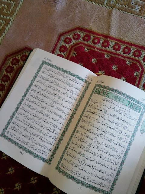 Membiasakan anak membaca Al Quran