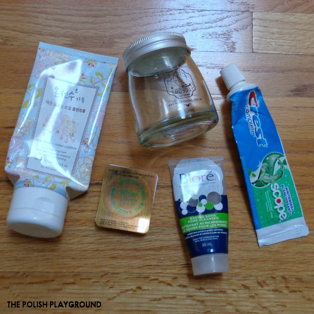 December 2017 Product Empties