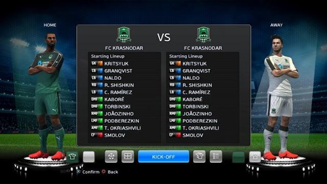 FC Krasnodar 2016-2017 Kit PES 2013
