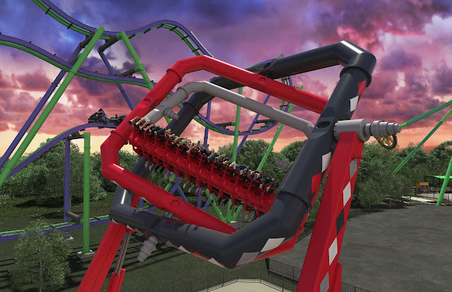 six flags over texas harley quinn spinsanity new ride 2018