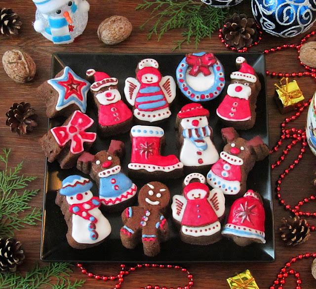 Рождественские кексы на красном вине