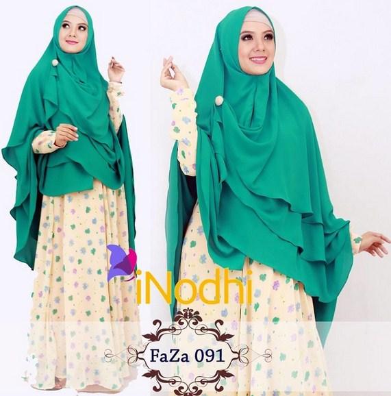 koleksi terbaru gamis muslim modis dan modern untuk tampil