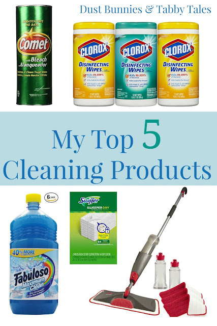 Five of My Top Cleaning Products