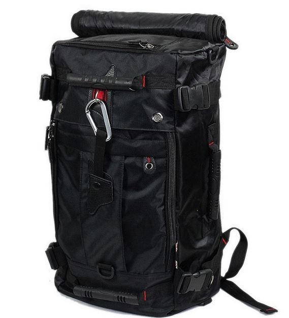 Multipurpose Travel Backpack - Black
