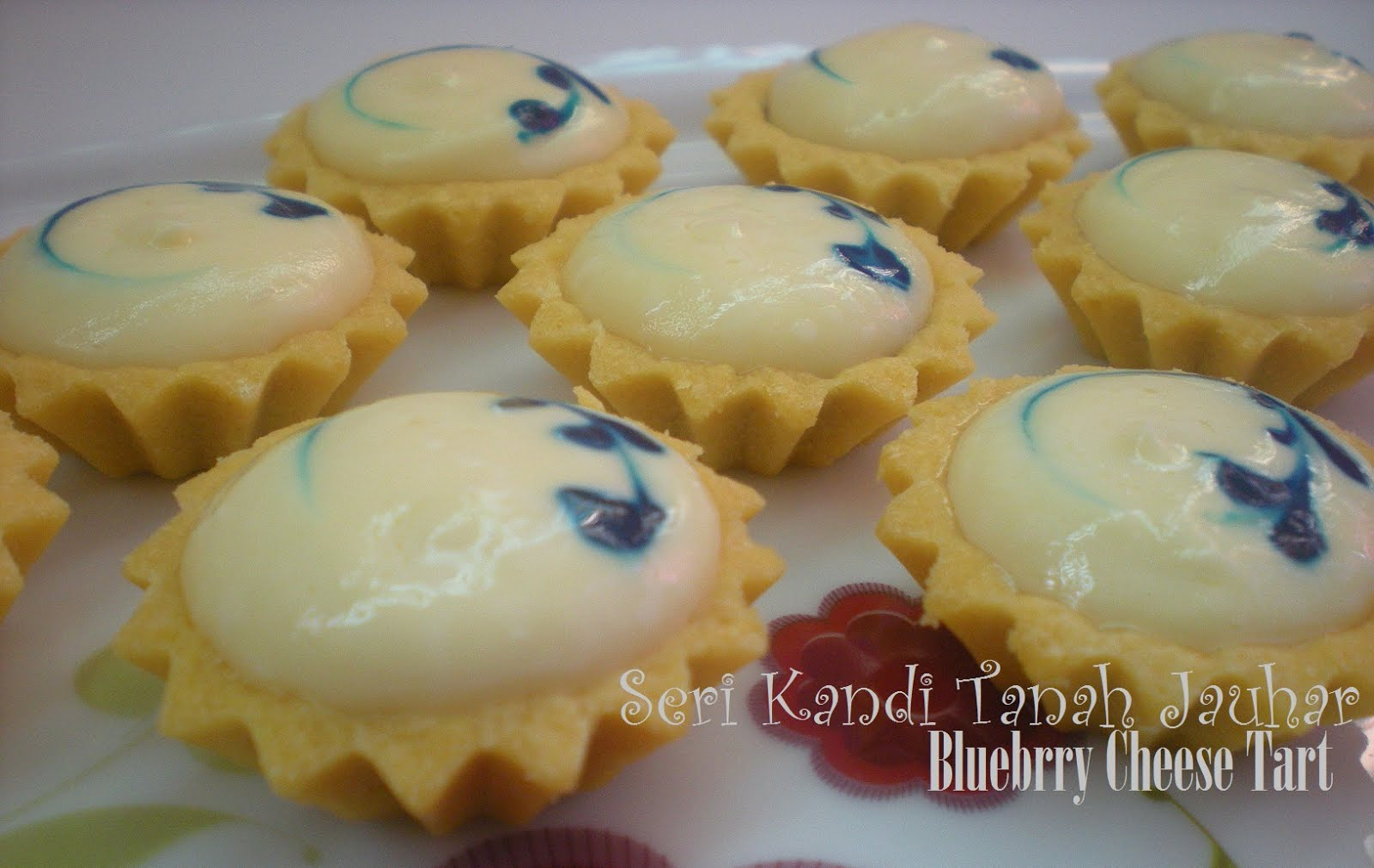 Petua Cheese Tart Gebu Resepi
