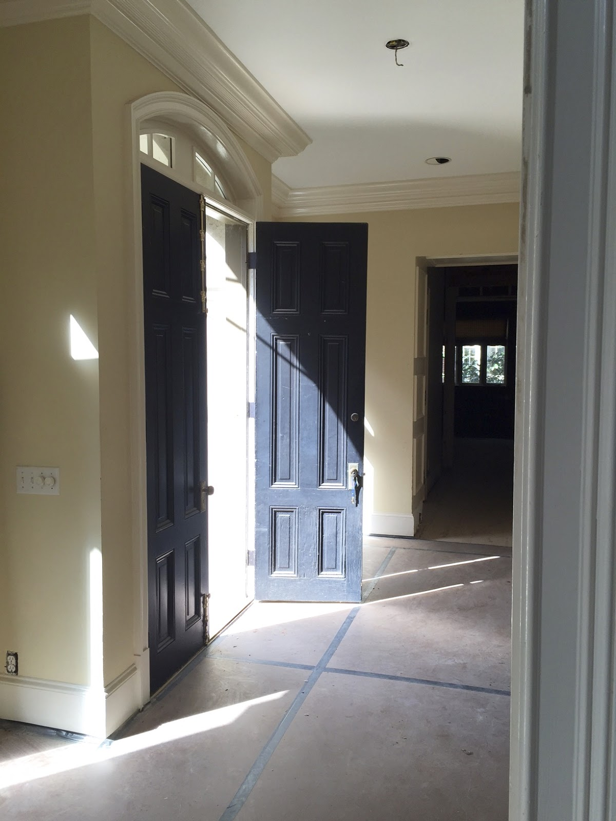 Before And After Powder Room And Foyer Design Indulgence