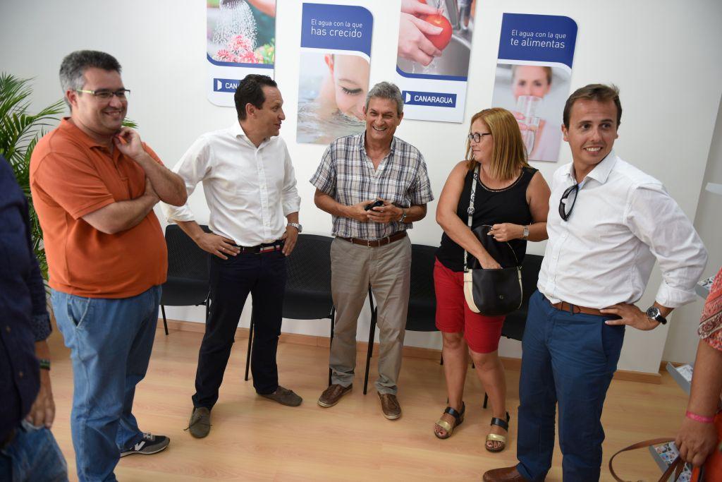 Canaragua inaugura su oficina de atenci n al p blico en for Oficina atencion al contribuyente madrid