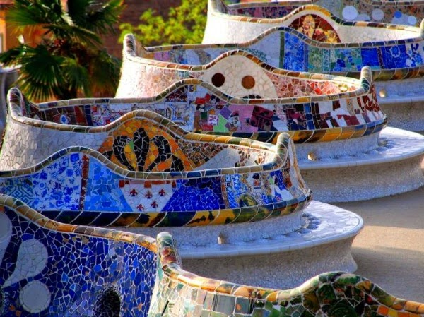 parque Guell (Barcelona)