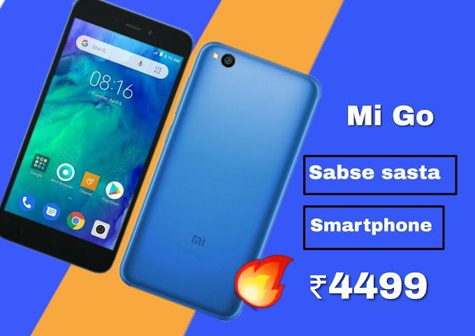 Redmi Go Sabse Sasta Xiaomi Smartphone