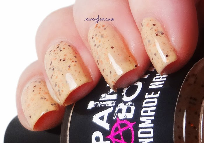 xoxoJen's swatch of Painted Sabotage Gettin' Eggy Wit It