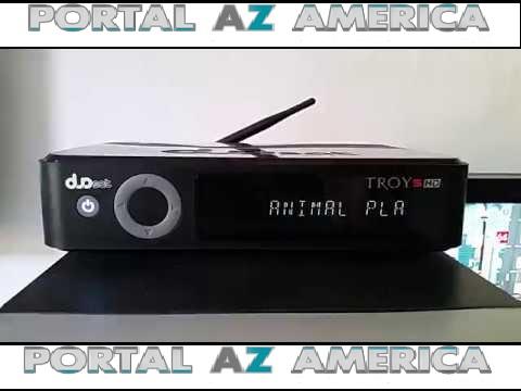 Resultado de imagem para DUOSAT TROY S HD PORTAL AZAMERICA