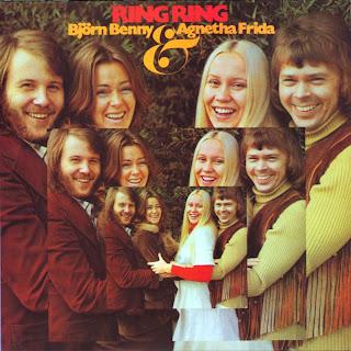 """Capa do disco """"Ring Ring"""", lançado em 1973 pelo Abba"""