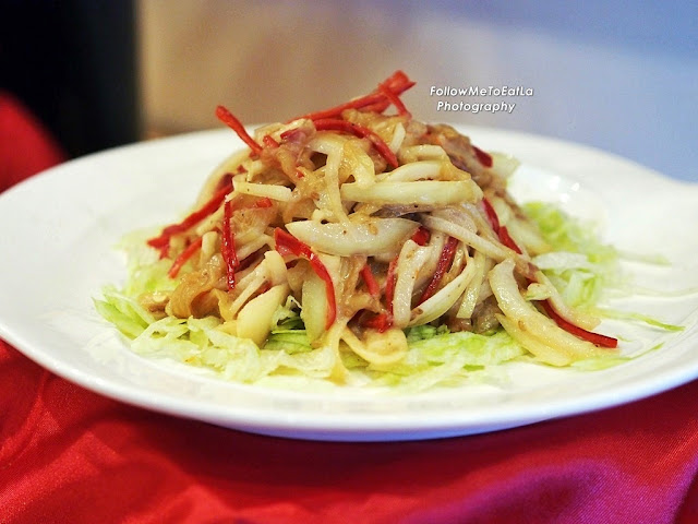 Daily Special of Chinese Chilled Appetizer Chilled Jelly Fish Salad