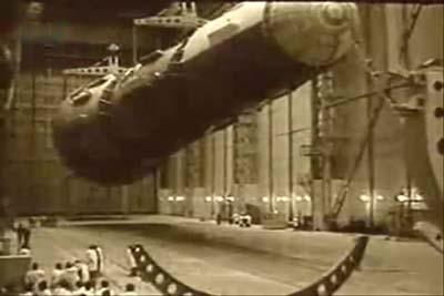 Una foto de archivo del extraño proyecto para bombardear la Luna