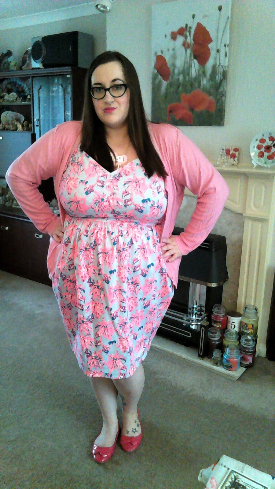 Neon Tulip dress - Does My Blog Make Me Look Fat?