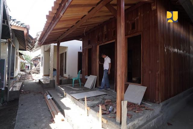 Rekonstruksi Rumah Zohri Sudah 95 Persen