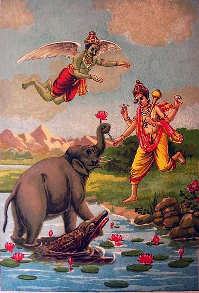 Gajendra's rescue